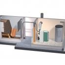 Doprema peleta modularnim sustavom  usisavanja peleta u dnevni spremnik