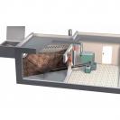 Modularni sustav dopreme sječke/peleta krutim pužnim transportom s mješalicom<br>1~, 230 V