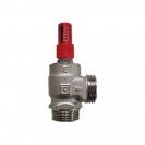 HERZ-ov prestrujni ventil diferencijalnog tlaka, kutna izvedba