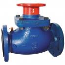 STRÖMAX GF BS isporučuje se također s  linearnom karakteristikom. STRÖMAX GF BS, granski regulacijski ventil za mjerenje  diferencijalnog tlaka, s ravnim sjedalom,  prirubnička izvedba, mjerni ventili