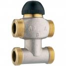 Termostatski troputni ventil s premosnicom - Radi kao miješajući i razdjelni ventil
