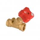 Granski regulacijski ventil s linearnom  karakteristikom, kosim sjedalom i ručnim kolom