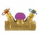 Termostatski regulacijski ventil STRÖMAX TS 99 FV, ravne izvedbe s mjernim ventilima i Rp  (unutarnji navoj)